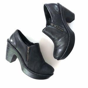 Born Famke in Black Booties Comfort Shoes